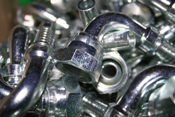 Quality OLMARK hydraulic fittings from PSSI, Penrith, UK.