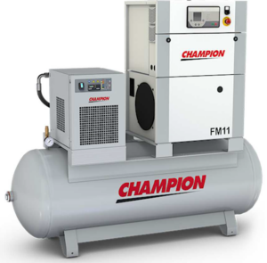 Champion 11kw Screw Compressor from PSSI, Cumbria, UK